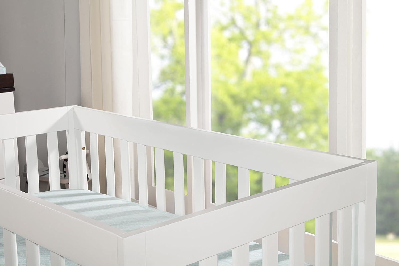 Amazon white floor lamp nursery - Amazon Com Babyletto Modo 3 In 1 Crib With Toddler Rail Espresso White Crib Skirt White Baby