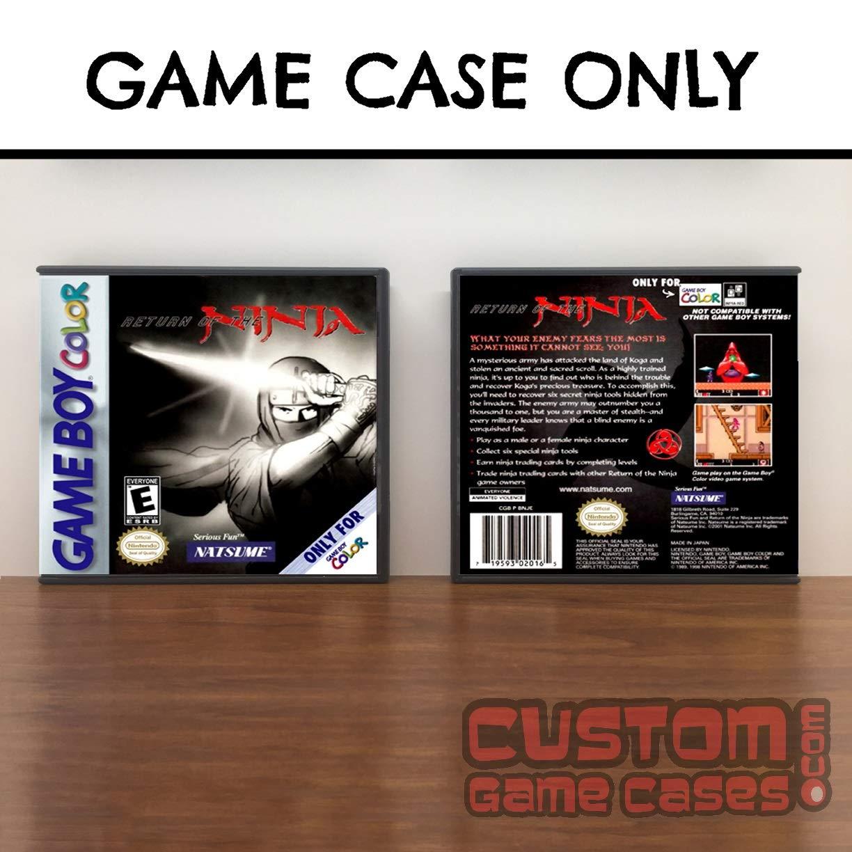 Amazon.com: Gameboy Color Return of the Ninja - Case: Handmade