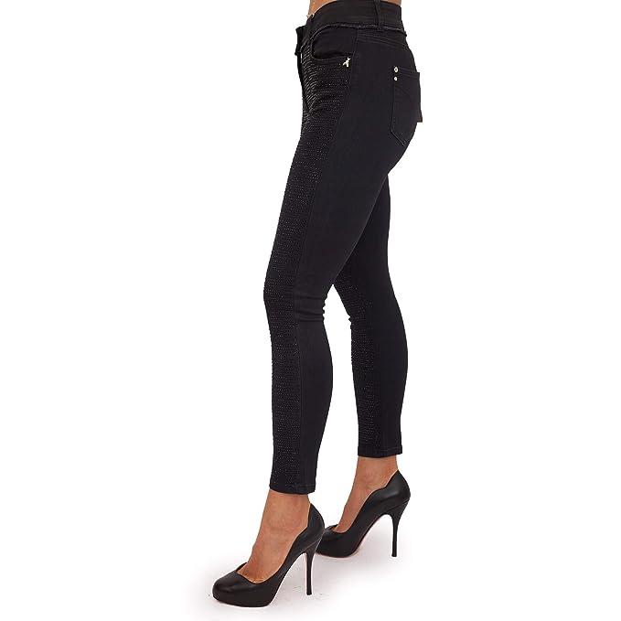PATRIZIA PEPE Jeans Donna con Strass 2J2142 A3HK  MainApps  Amazon ... e8e7035943b