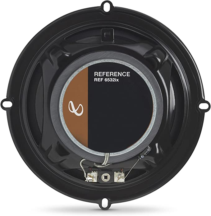 "NEW Infinity REF-6532ix 6.5/"" Reference Series 2-Way Coaxial Car Speakers 1 PAIR"