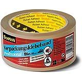 Scotch PP5066B Verpackungsklebeband PP, lösungsmittelfrei, hohe Reißfestigkeit, 66 m x 50 mm, braun