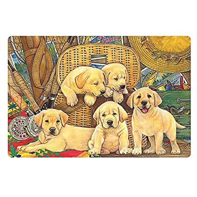 Jigsaw Puzzles 1000 Pieces for Adults Animals Dogs and Cats Picture Assembling Home Games Intellective Educational Toy: Sports & Outdoors
