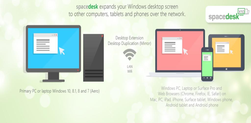 spacedesk windows 10