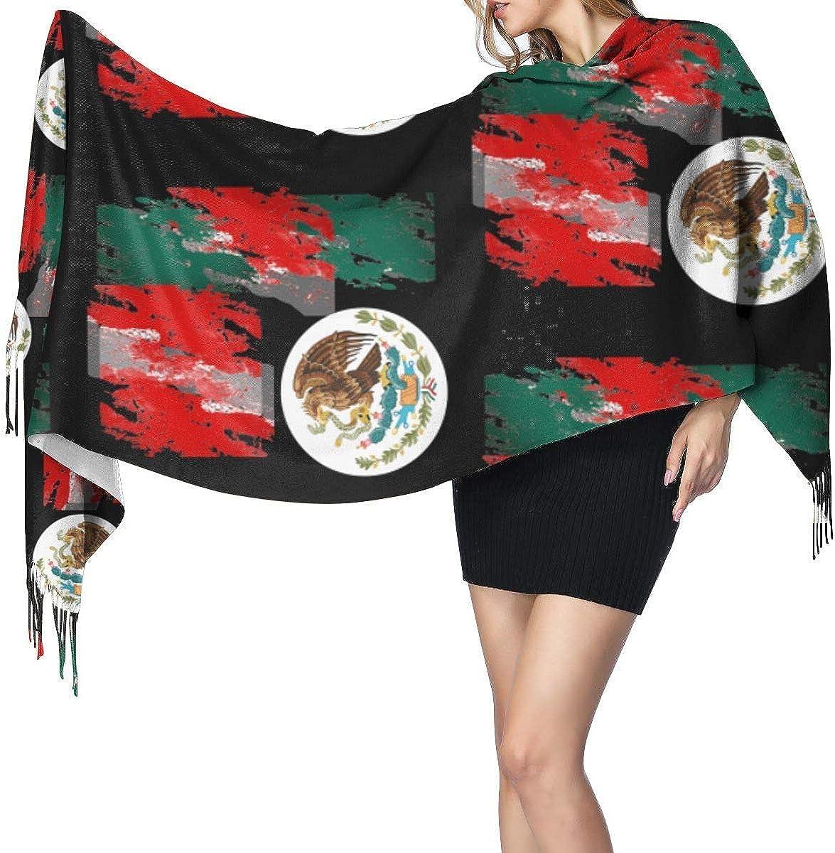 HNJZ-GS Bandera de México Pintura colorida Mujeres
