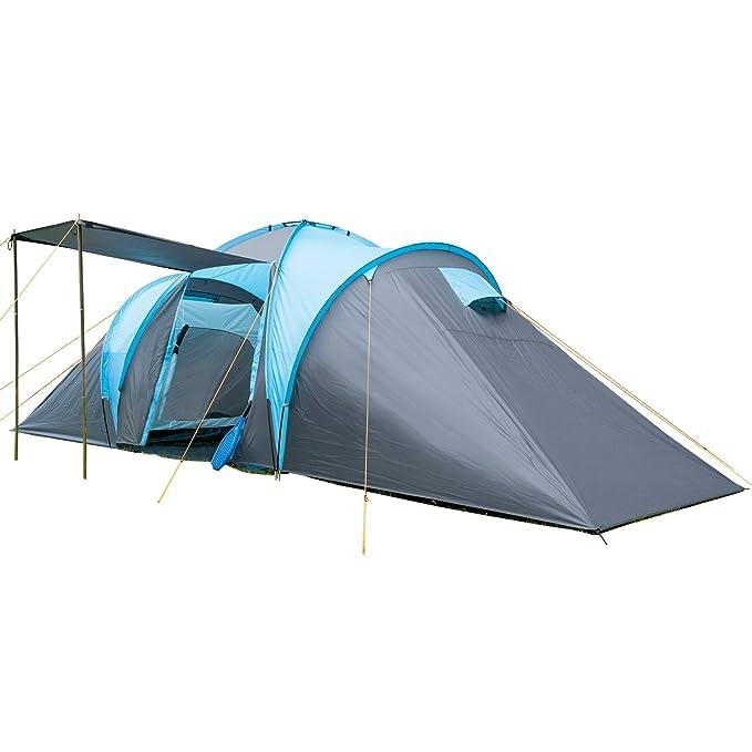 skandika Familienzelt Hammerfest 6 - Tienda de campaña iglú, color azul, talla 6 Persons: Amazon.es: Deportes y aire libre