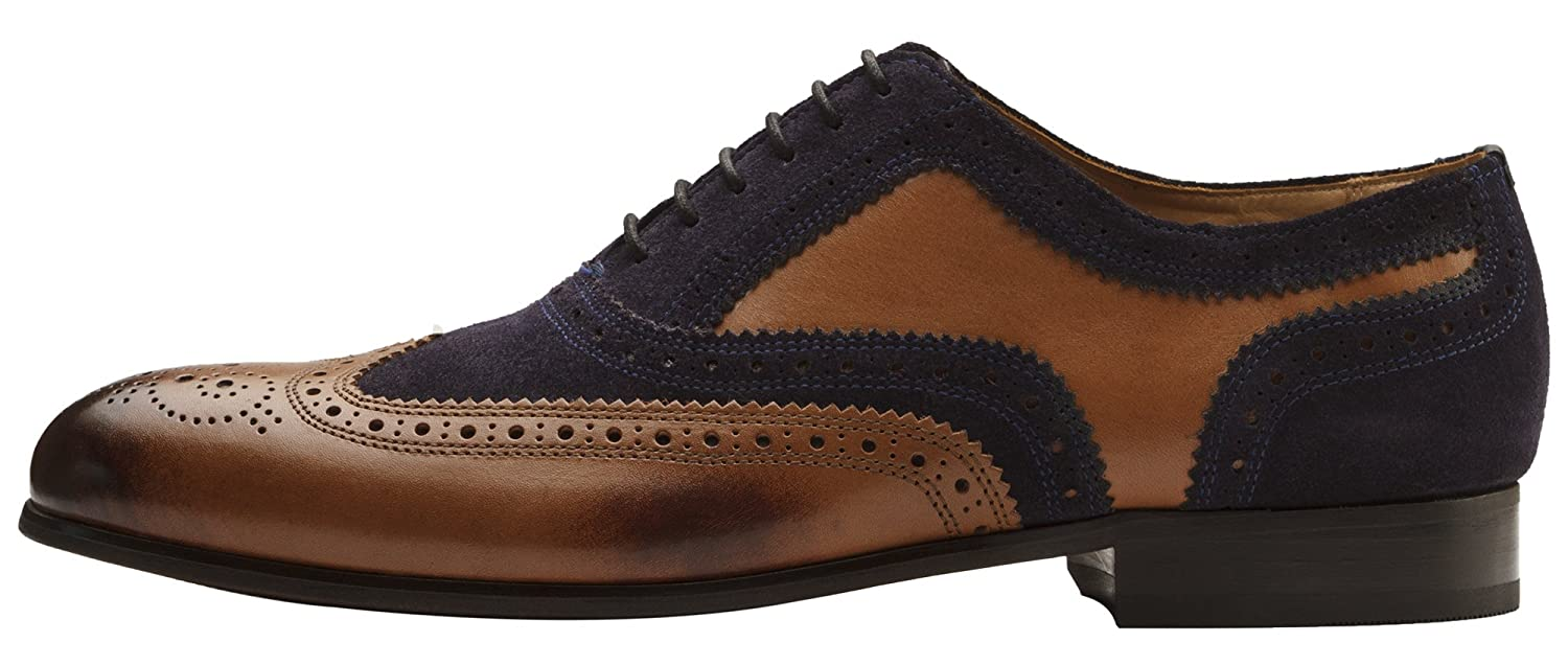 Dapper Shoes Co... Handcrafted Genuine Leather Classic Men's Classic Leather Brogue Oxford B07C312VMB Fashion Sneakers 650631