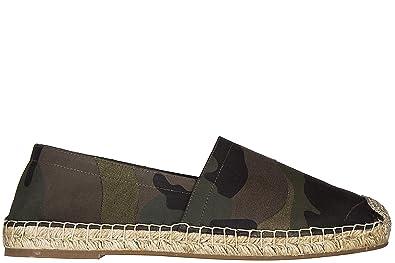 Espadrilles homme en coton camouflage Valentino Xnrhe