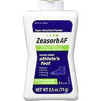 Zeasorb Antifungal Treatment Powder, Athletes Foot, 2.5oz (Pack of 2)