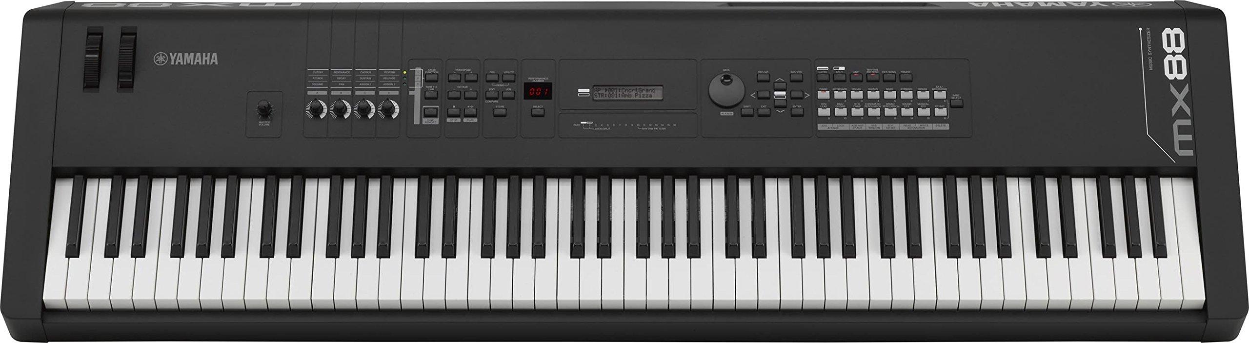 Yamaha MX88 88-Key Weighted Action Synthesizer by YAMAHA