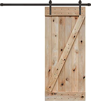36 cm x 84 en. Z-bar Knotty aliso interior placa de puerta del ...