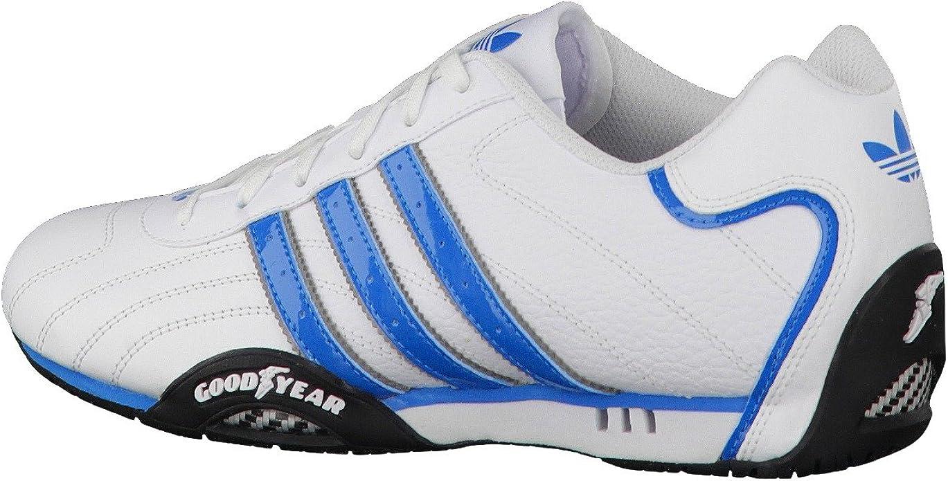 adidas Originals goodyear adi racer trainers white & blue D65636 ...