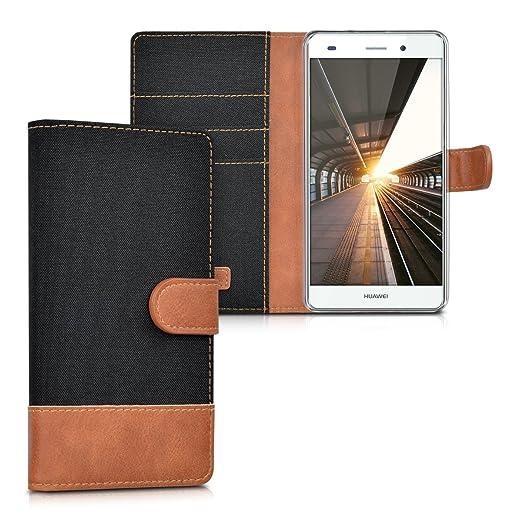 85 opinioni per kwmobile Custodia portafoglio per Huawei P8 Lite (2015)- Cover in simil pelle a
