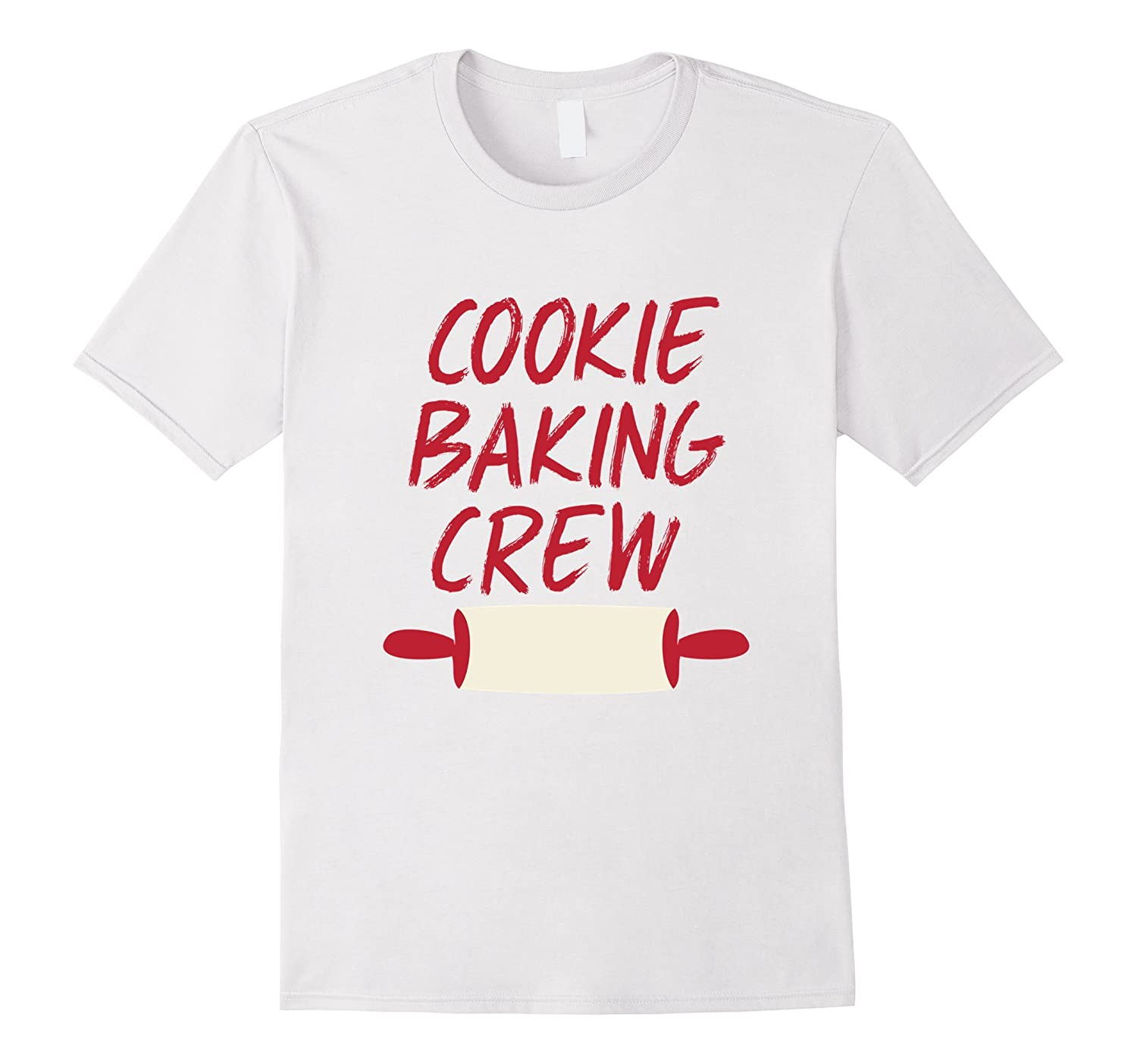 Kids Christmas Outfit Cookie Baking Crew Shirt Holiday-Rose