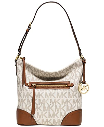 fed70e28a431b6 Michael Kors Fallon Large Shoulder Bag VANILLA: Handbags: Amazon.com