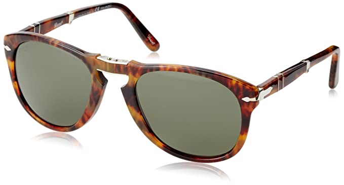 355af032fc9 Persol Sunglasses (PO0714) Brown Green Acetate - Polarized - 54mm