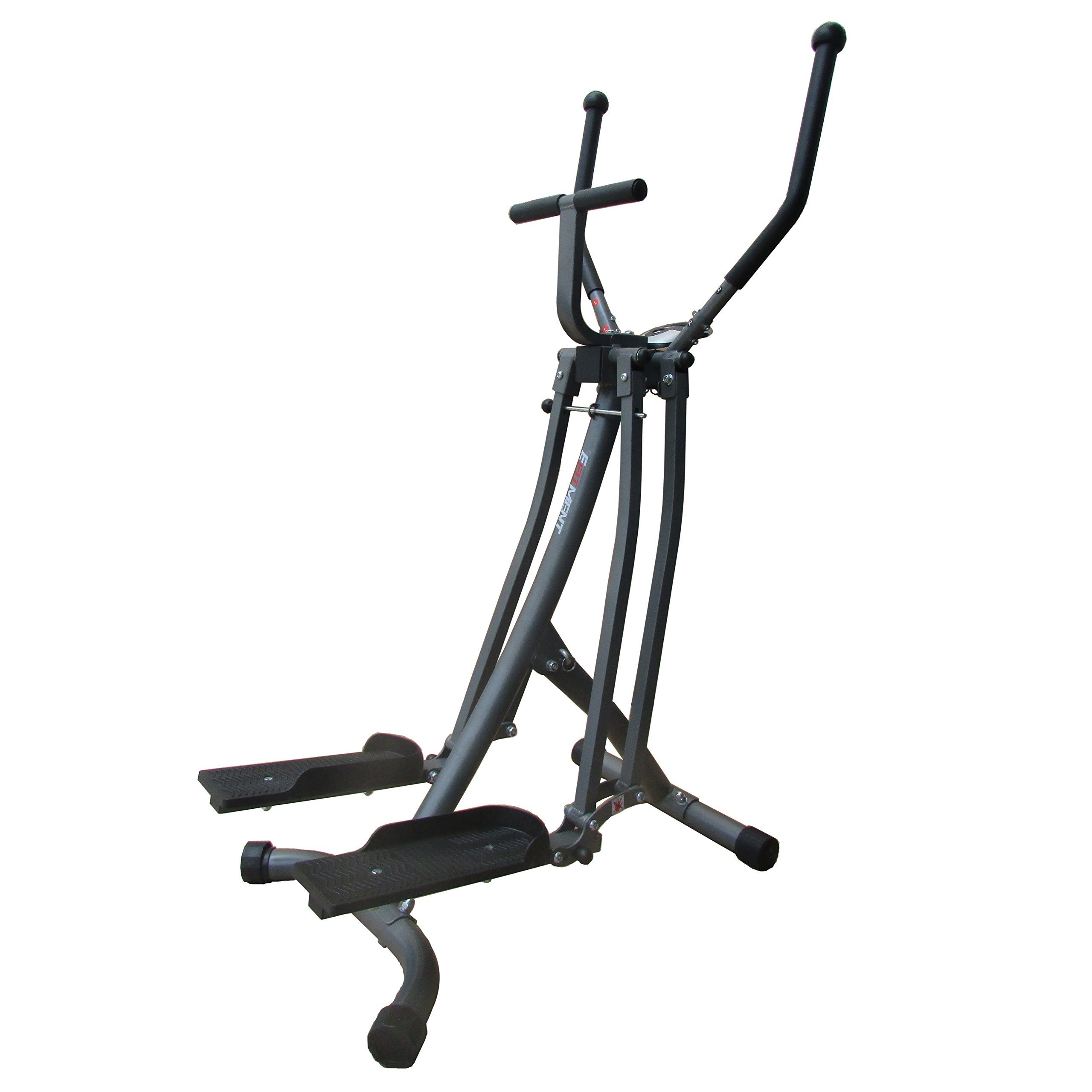 Air Walker Glider Elliptical Machine with Side Sway Action for Exercise and Fitness by EFITMENT - E020 by EFITMENT