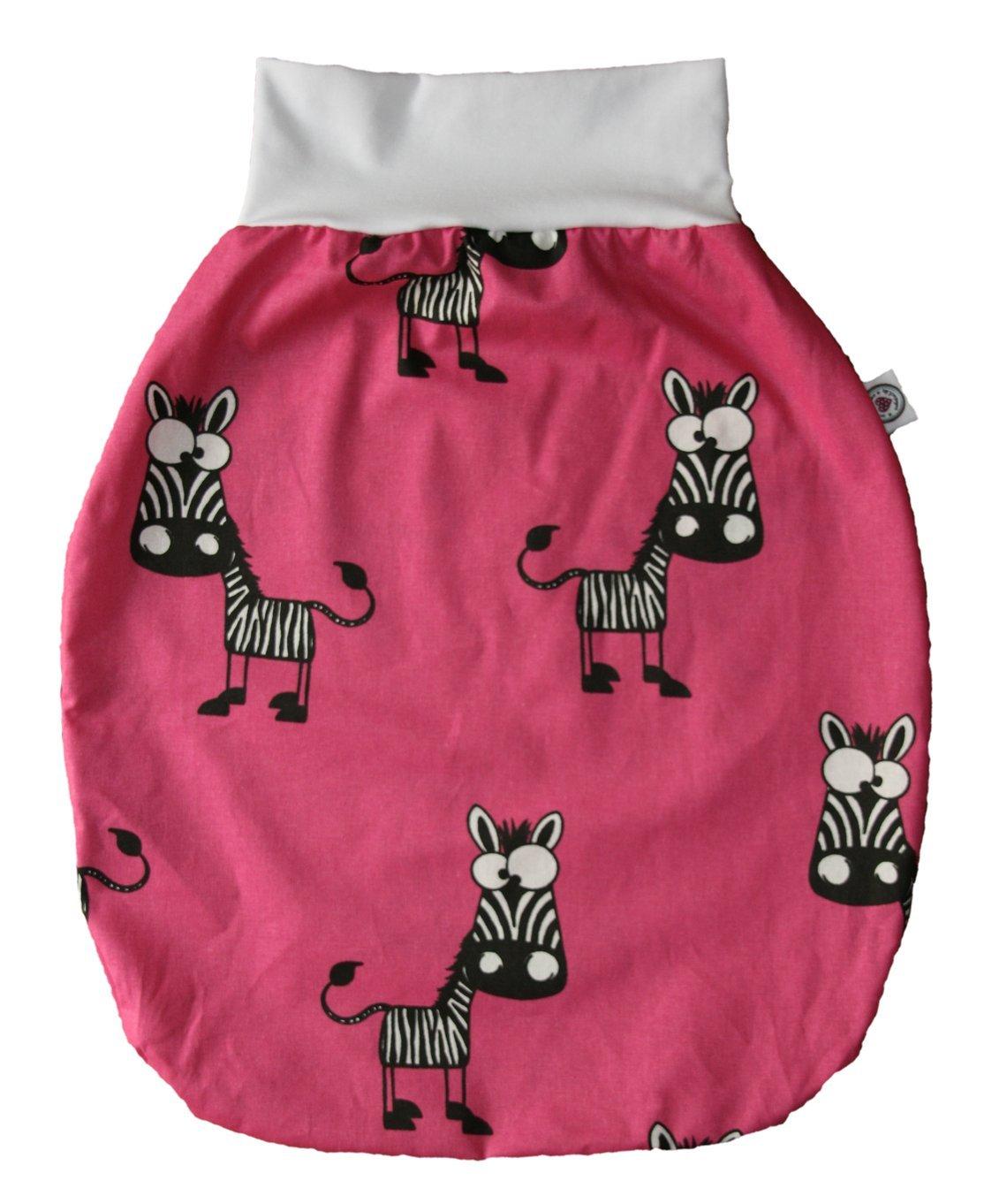 Saco de dormir con bonitas Forma de Animales Zebra/rosa Talla:0-6 meses: Amazon.es: Bebé