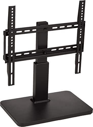 AmazonBasics Pedestal TV Mount for 32-65 TV with Swivel feature, black
