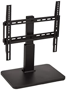 "AmazonBasics Pedestal TV Mount for 32-65"" TV with Swivel Feature"