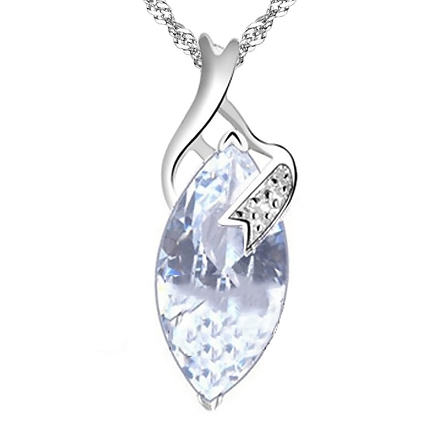 Amazon le rve the dream sterling silver pendant necklace amazon le rve the dream sterling silver pendant necklace jewelry mozeypictures Choice Image