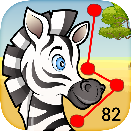 82 Animals Dot-to-Dot for Kids - Educational game for kindergarten children; play and learn alphabets & numbers