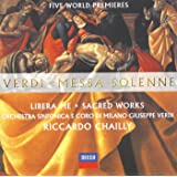 Verdi: Misa solemne, Libera me, Sacred Works
