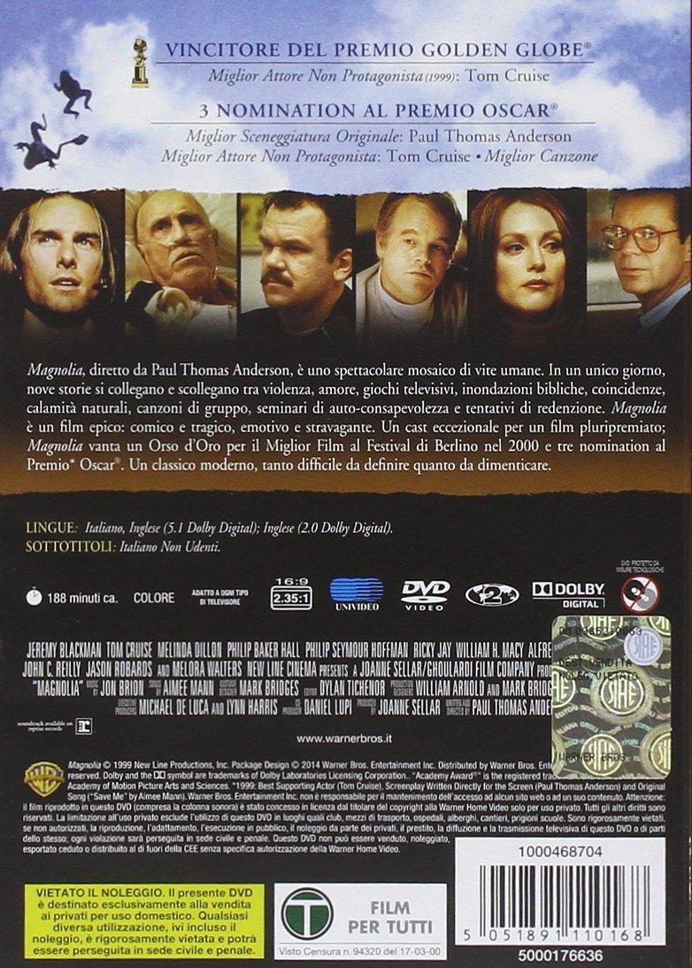 Amazon.com: Magnolia [Italian Edition]: tom cruise, jason robards jr, paul thomas anderson: Movies & TV