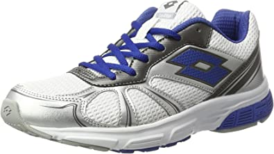 Lotto Speedride 600, Zapatillas de Running Hombre, Blanco (Wht/blu Nau), 47 EU: Amazon.es: Zapatos y complementos