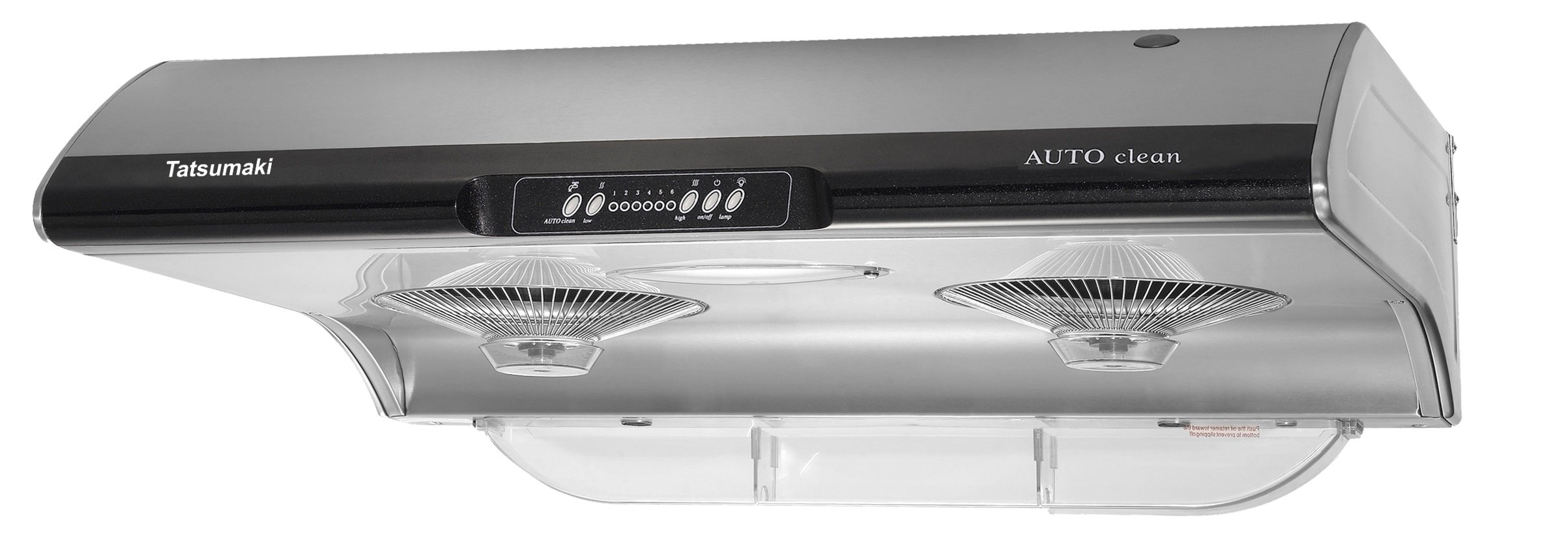 Tatsumaki 30'' TA-395 SELF CLEANING 6 SPEED SETTING Range Hood w/ 750 CFM