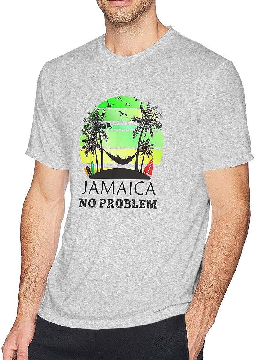 Camiseta Coconut Tree Reggae Color de algodón jamaicano ...