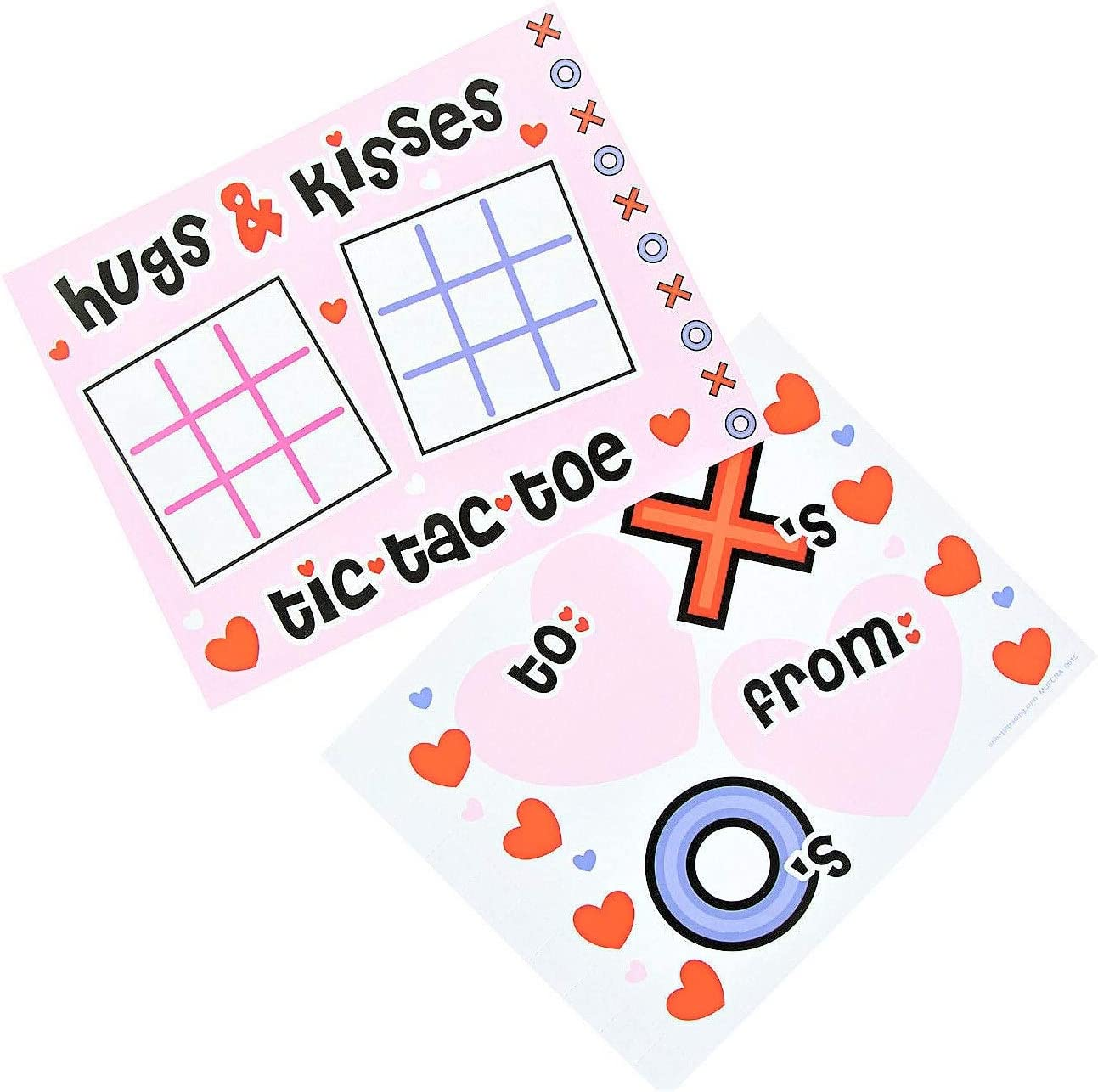 School Prize Box 2020 Toys Candy Alternatives Playing Cards Activities for Classroom Gift Exchange 36 Games Valentines Day Paper Games Bulk Assortment Fortune Teller MASH /& More!