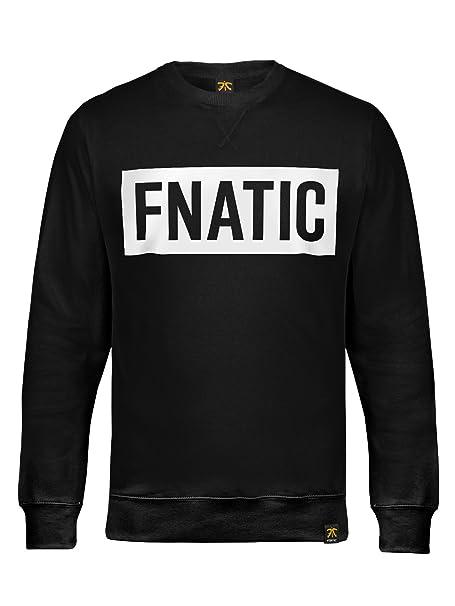 Fnatic Box Logo - Premium Sweatshirt Black, 3XL