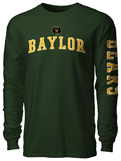 NCAA Baylor Bears Mens NCAA Men's Heap Long sleeve Tee, Athletic Hunter, Medium