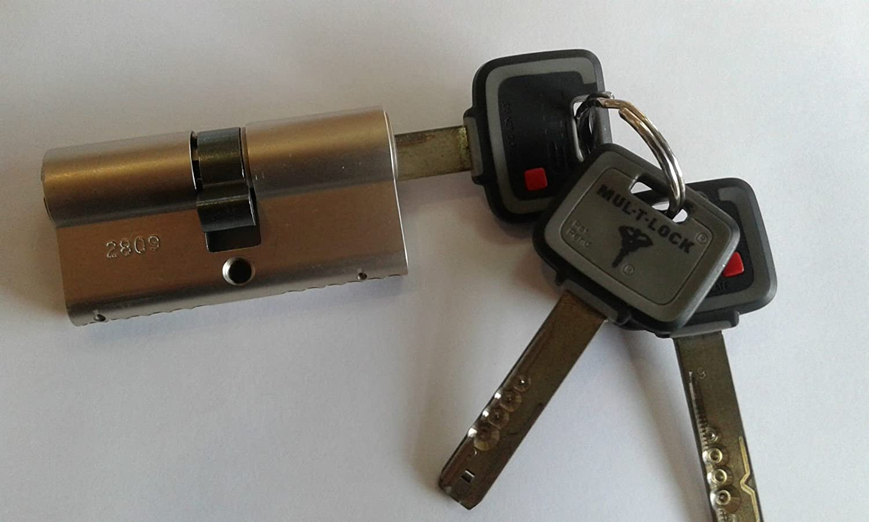 High Security Euro Cylinder Lock .3 Keys And ID Card MUL-T-LOCK MT5