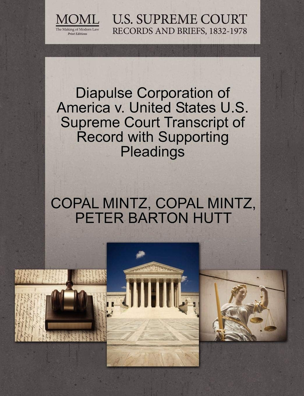 Diapulse Corporation of America v. United States U.S. Supreme Court Transcript of Record with Supporting Pleadings by Gale, U.S. Supreme Court Records