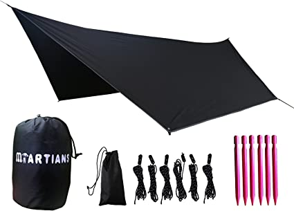 Waterproof Rain Fly Hammock Tarp Cover Tent House Tarp Camping Outdoor Travel Suitable For Boating Travel By Car Camping