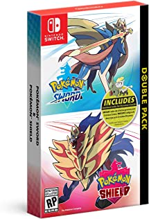 Pokemon Sword And Pokemon Shield Double Pack   Nintendo Switch by By    Nintendo