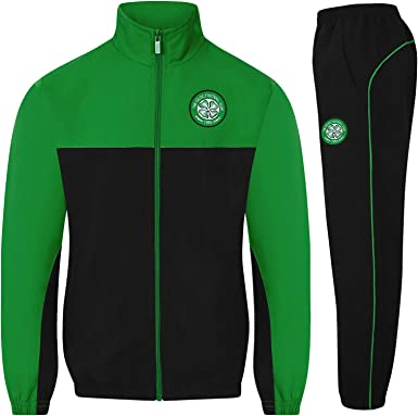 Celtic FC - Chándal Oficial para niño - Chaqueta y pantalón Largos ...