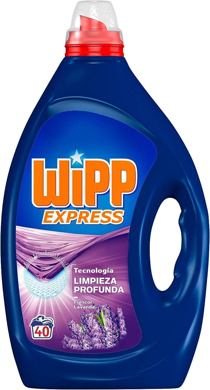 Wipp Express Detergente Líquido Lavanda - 40 Lavados: Amazon.es ...