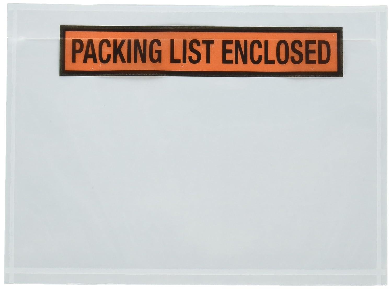 Sales4less Emballage Liste enveloppes 19,1x 14cm Pouches facture clos adhésif Lot de 100sachets 1x 14cm Pouches facture clos adhésif Lot de 100sachets PL755-99