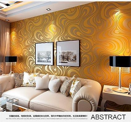 Tissu Non Tisse Salon Chambre A Coucher Hotel Mur Chevet