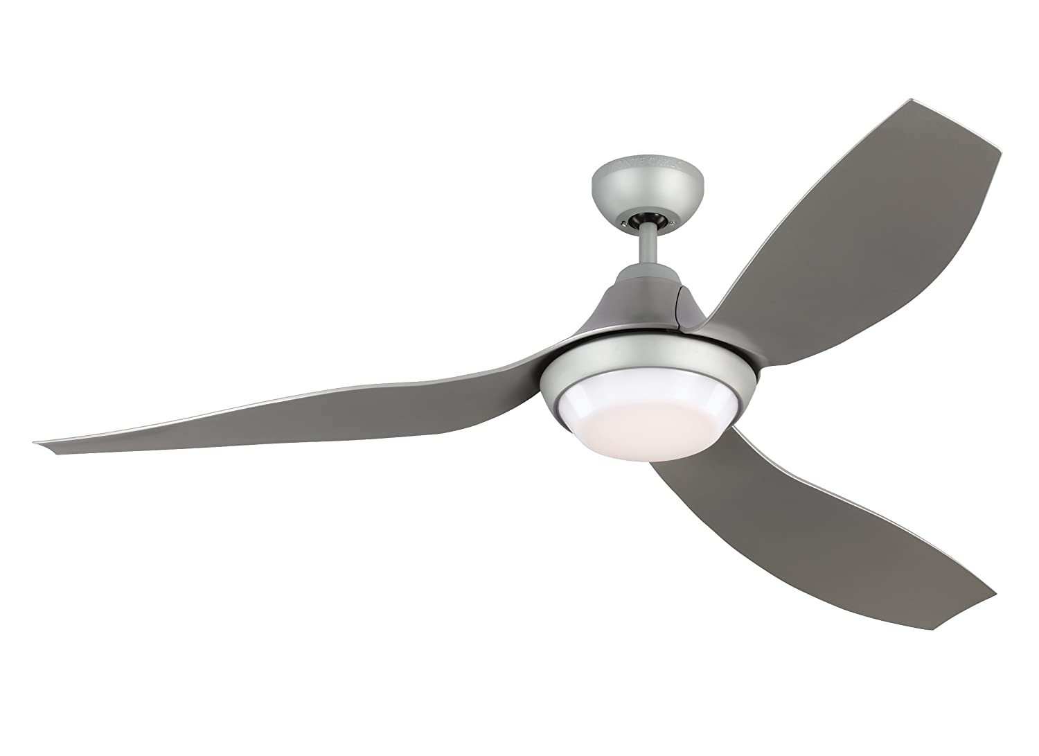Monte carlo avvo 3avor56gryd grey 56 indoor outdoor energy efficient ceiling fan with led light remote included amazon com