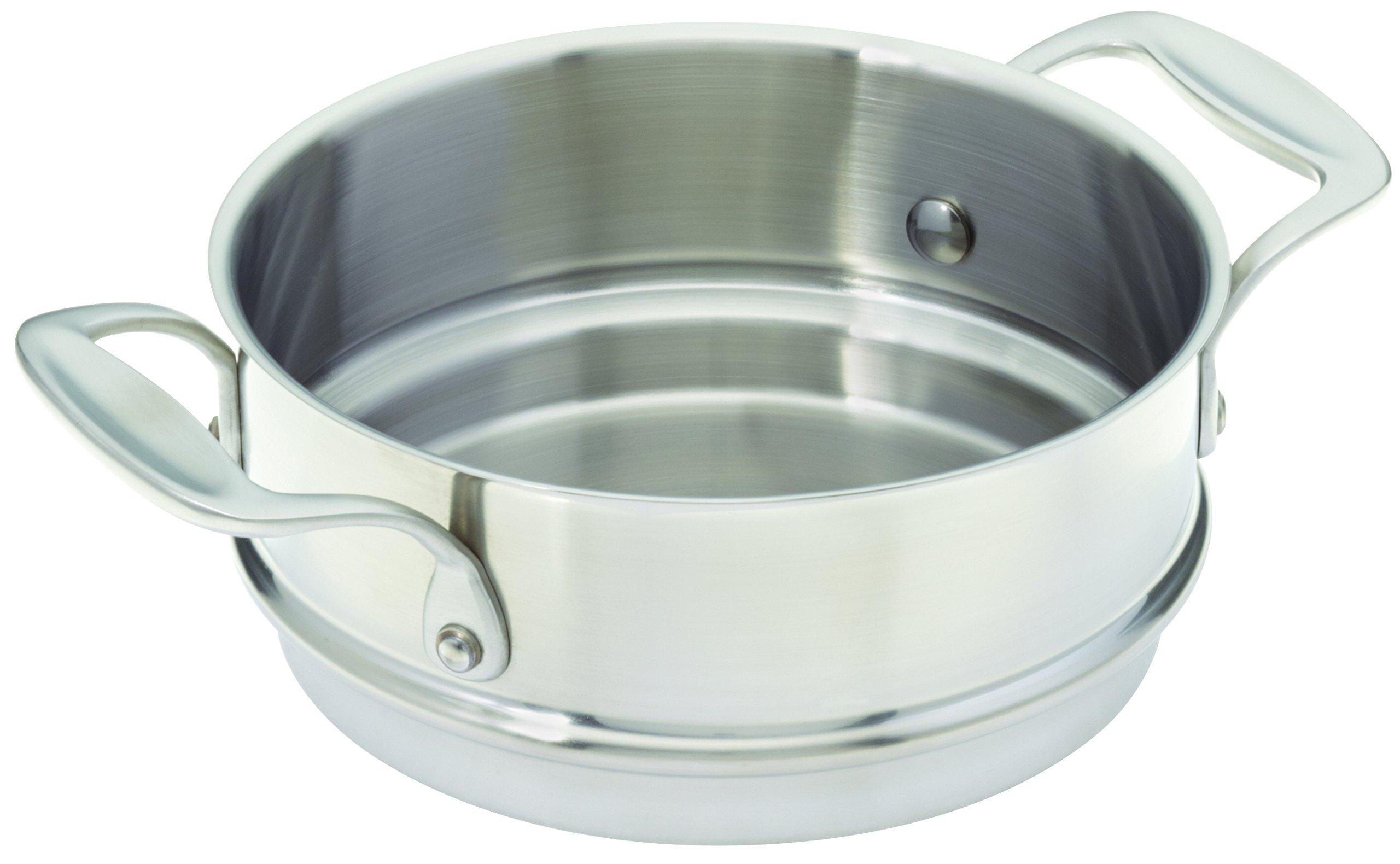 3-quart Covered Stainless Steel Double Boiler Insert (Fits 2&3 qt Saucepan)