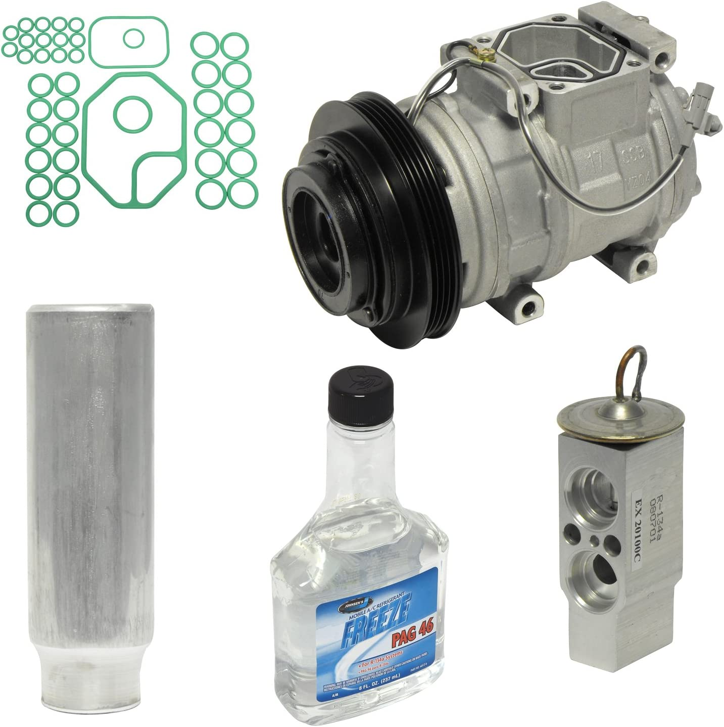 Universal Air Conditioner KT 3848 A//C Compressor and Component Kit