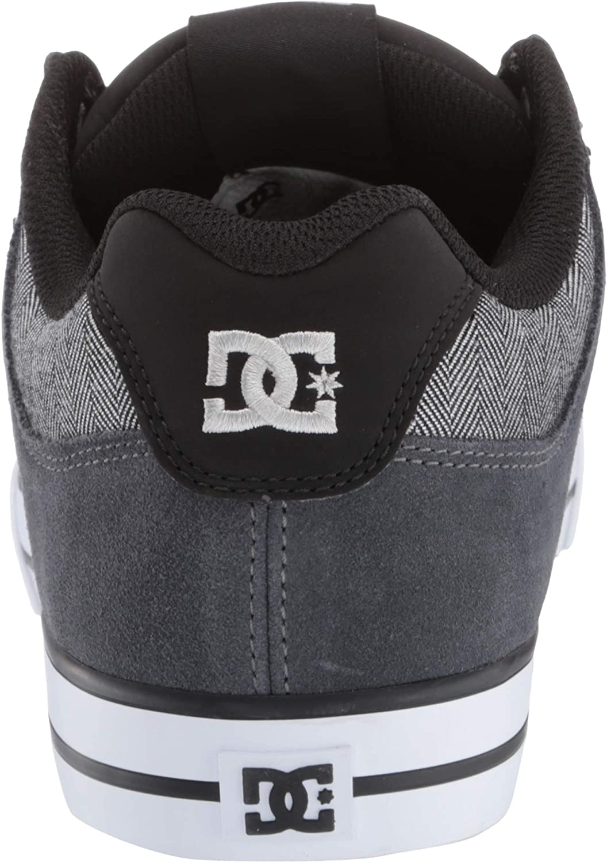 DC Shoes PURE SE SHOE D0301024, Baskets mode homme Noir Gris Blanc