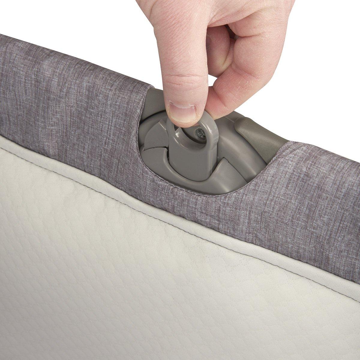 Evenflo Loft Portable Bassinet Grey Melange 12112125
