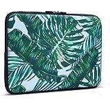 11 - 13.3 Laptop Sleeve , iCasso Palm Leaf Pattern Nylon Protecteur Cover Imperméable étui Housse pour MacBook Air, MacBook Pro, Tablet PC, Ultrabook, 11 - 13,3 Pouces Ordinateur Portable
