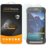 (2 Pack) Supershieldz for Samsung (Galaxy S5 Active) (Not Fit for Galaxy S5) Tempered Glass Screen Protector, Anti Scratch, B