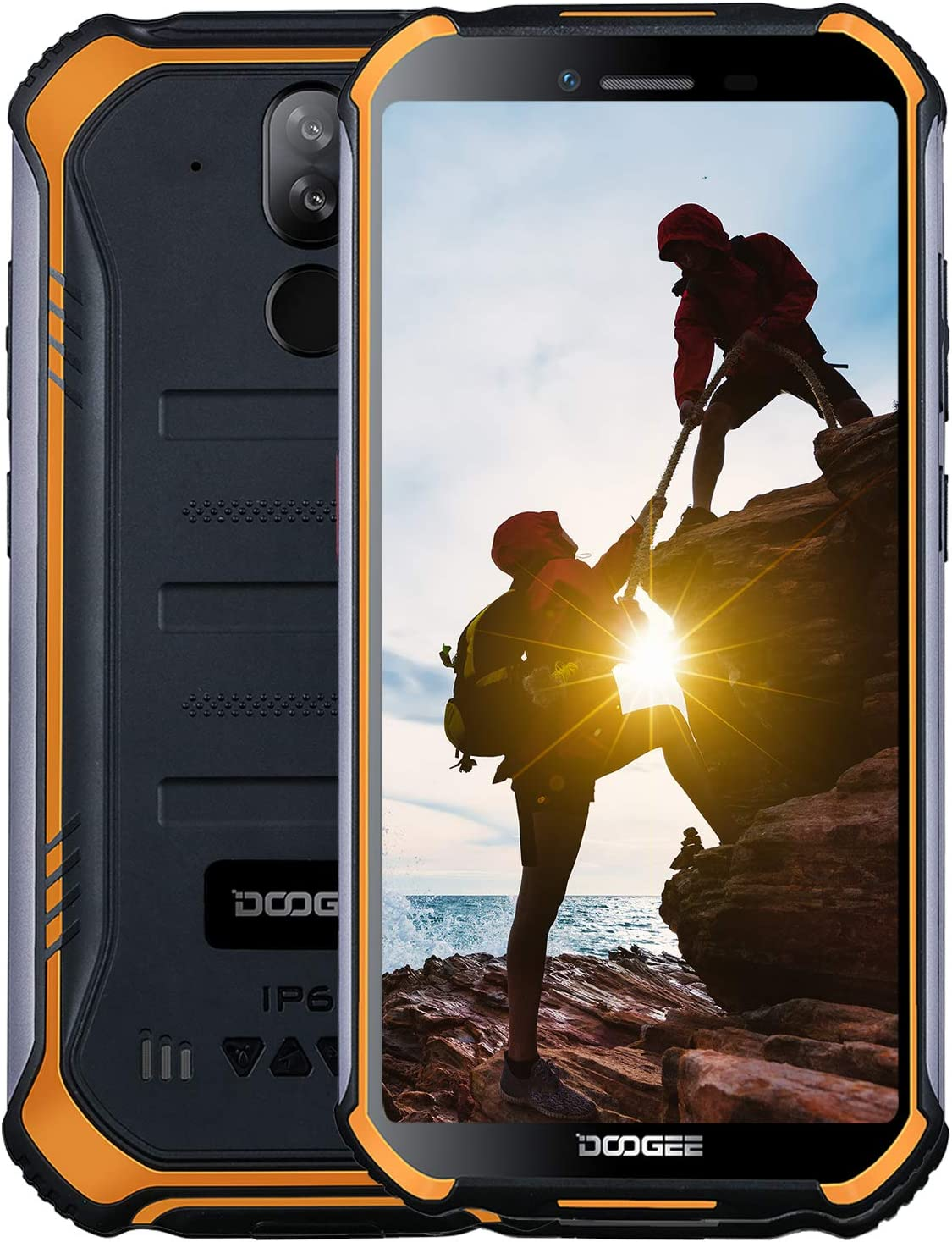 DOOGEE S40 Dual SIM 4G Movil Todoterreno, Android 9.0 Telefonos ...