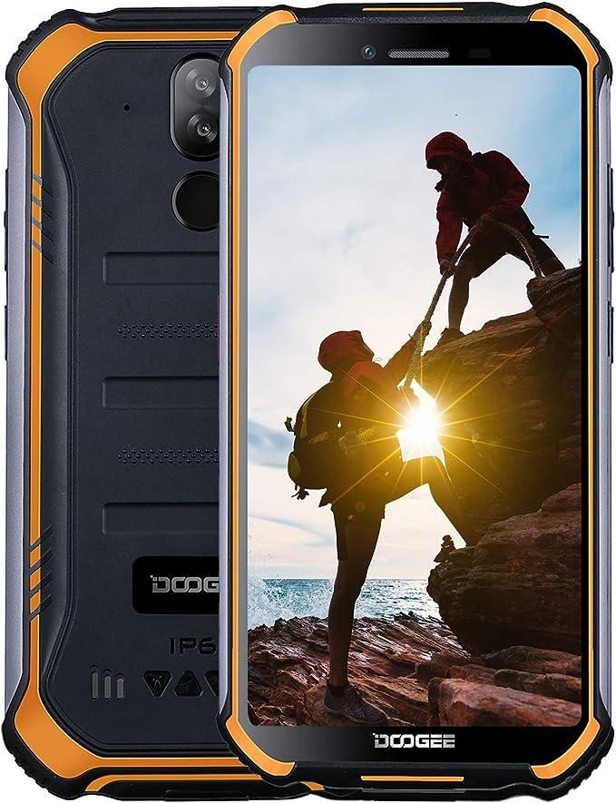 22 opinioni per DOOGEE S40 4G Rugged Smartphone IP68/IP69K Impermeabile, Android 9,0 Telefoni